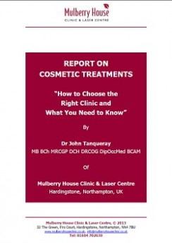 report on cosmetic treatments cover