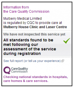 cqc registration widget