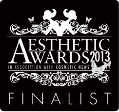 Aesthetic Awards 2013 -Finalist Logo