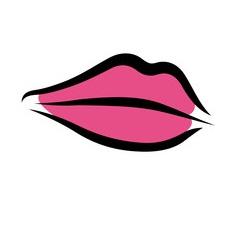 classic shape lips