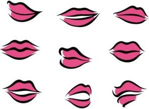 lip shape gallery