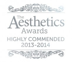 aesthetics awards highly commended