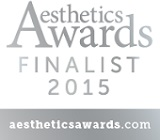 aesthetics awards finalist 2015