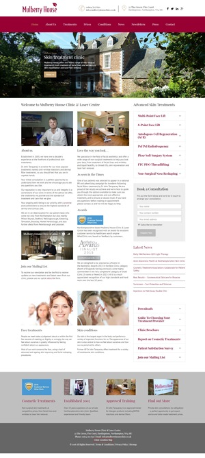 mulberry house clinic website